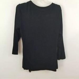 Chico's Tops - Chicos travelers wrap front tie top shirt size 2